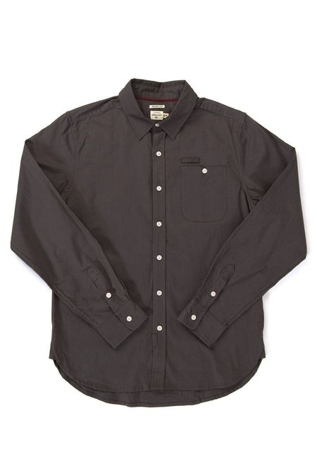 Bridge & Burn Foster SHIRT - Charcoal