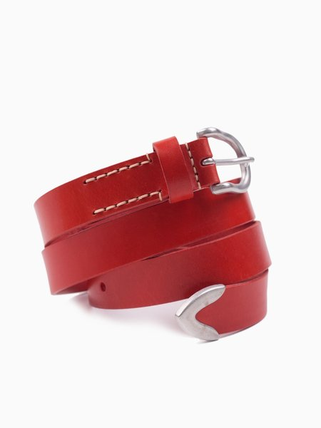 Our Legacy Belt 2.5cm Red