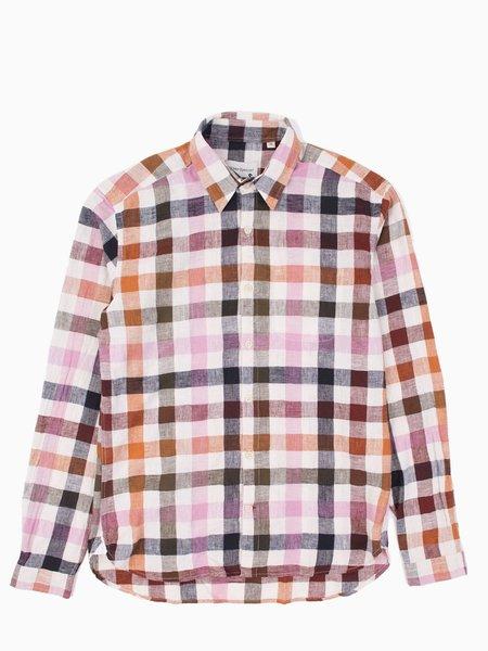 Oliver Spencer New York Special Shirt - Pink Multi