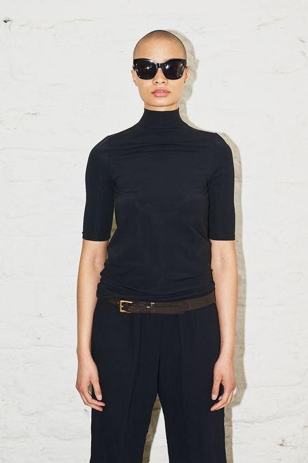 Assembly New York Mockneck T-Shirt - Black