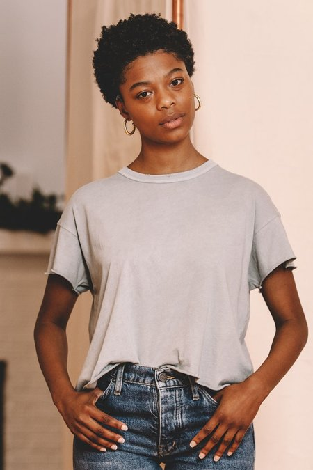 The Great. The Crop Tee - Sea Glass