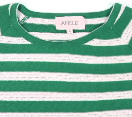 Afield Knitted T-Shirt - Green
