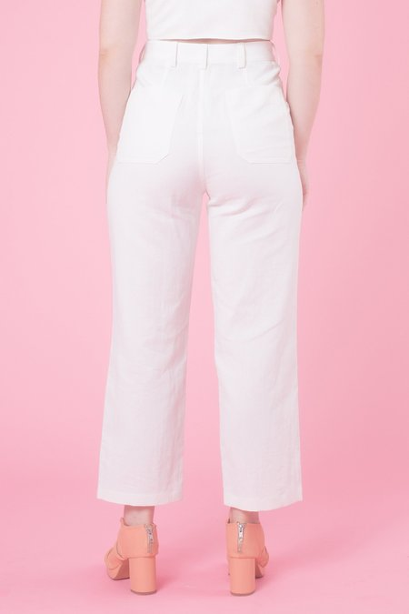 Samantha Pleet Chorus Pants - White