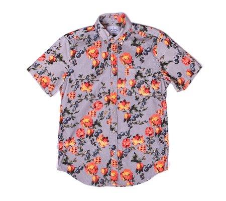 Portuguese Flannel Lobo Flores Corduroy Short-Sleeve Shirt