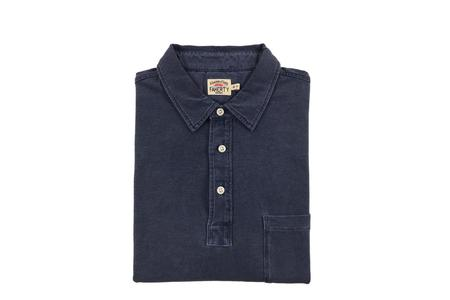 Faherty Brand Sunwashed Polo - Navy