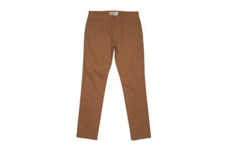 Milworks Taper Fit Chino - Tobacco