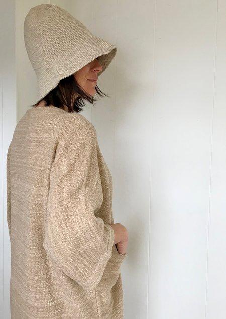 Lauren Manoogian Crochet Bell Hat in Natural