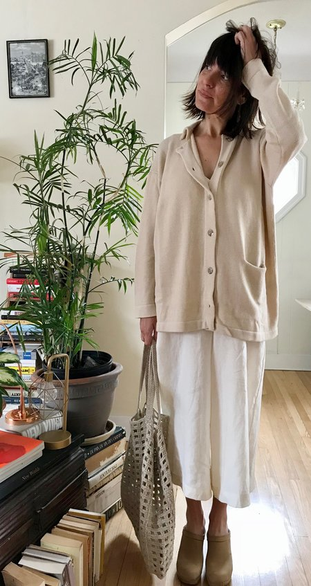 Lauren Manoogian Big Shirt in Crudo