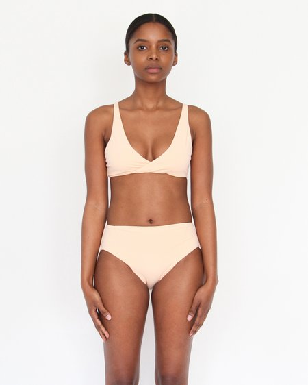 Esby Swim Leah Cross Top - Sorbet