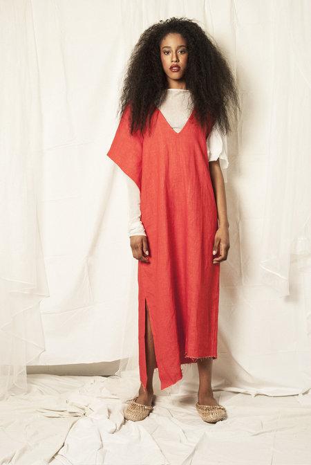 K M by L A N G E Boryana Dress - Red