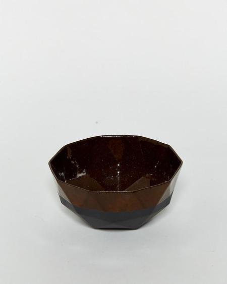 Kelly Lamb Black Porcelain Dinner Bowl