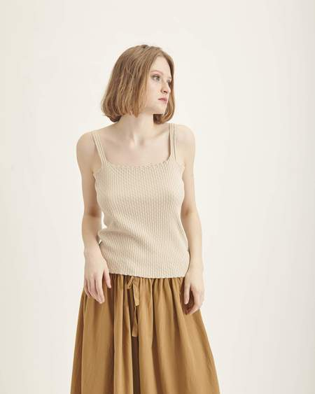 Revisited Matters Wicker Knit Top