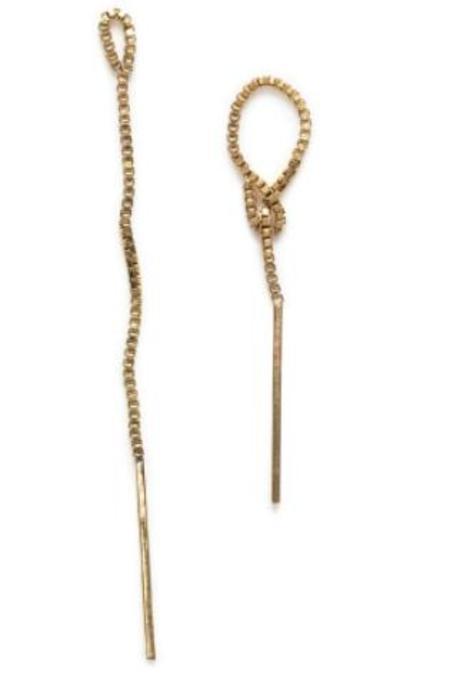 Annika Inez Pull-through Loop Earrings