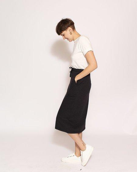 Kowtow Building Block Skirt in Black Marle