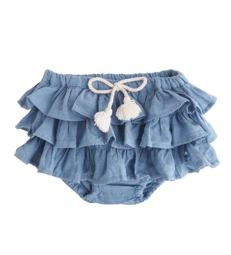 Kids Tocoto Vintage Ruffle Bloomer