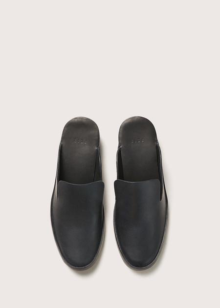 Women's Hand Sewn Heel Mule - Black