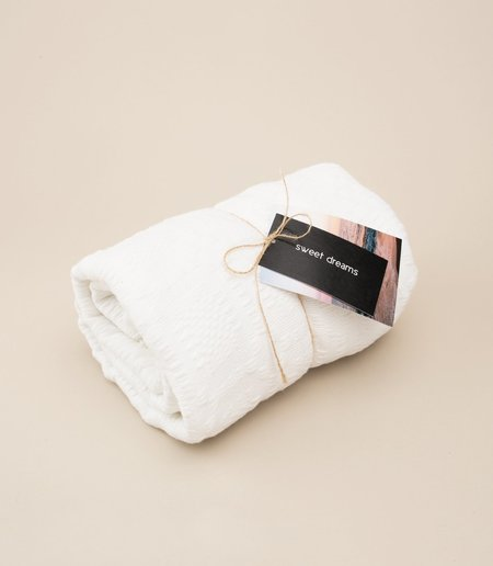 Locano Inabel Blanket - White