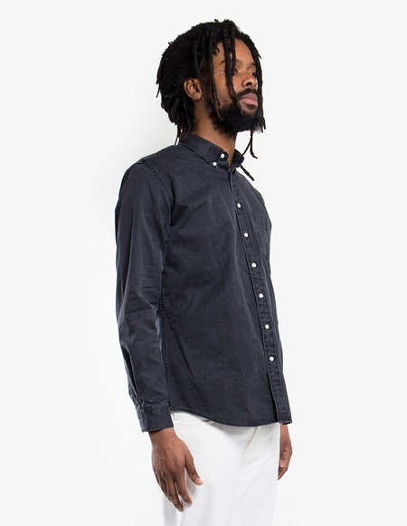Schnayderman's Leisure Overdyed One SHIRT - Black