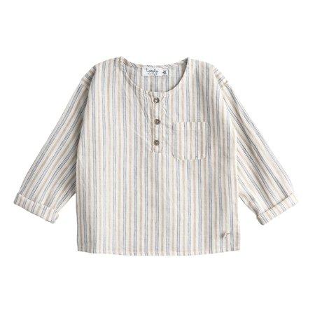 Kids Tocoto Vintage Striped Summer Shirt