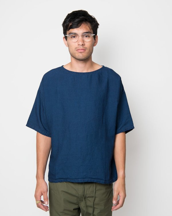 Orslow Indigo Pullover Half-Sleeve