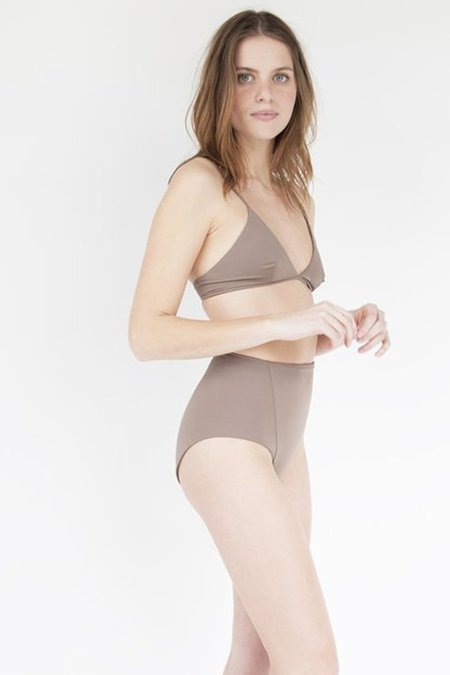 Esby Linda High Waist Bottom in Pecan