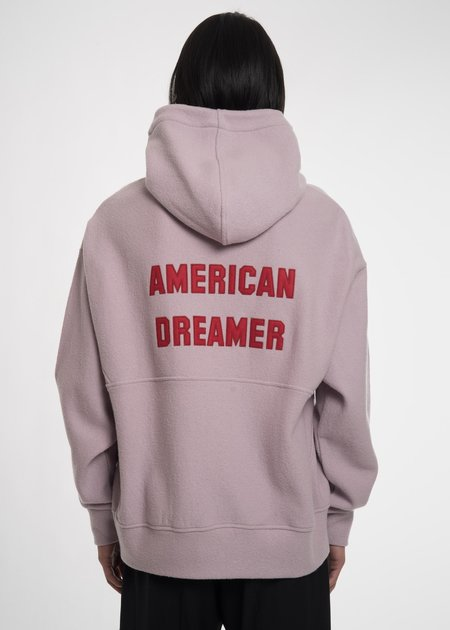 Tim Coppens Pink American Dreamer Hoodie - Dusty Pink