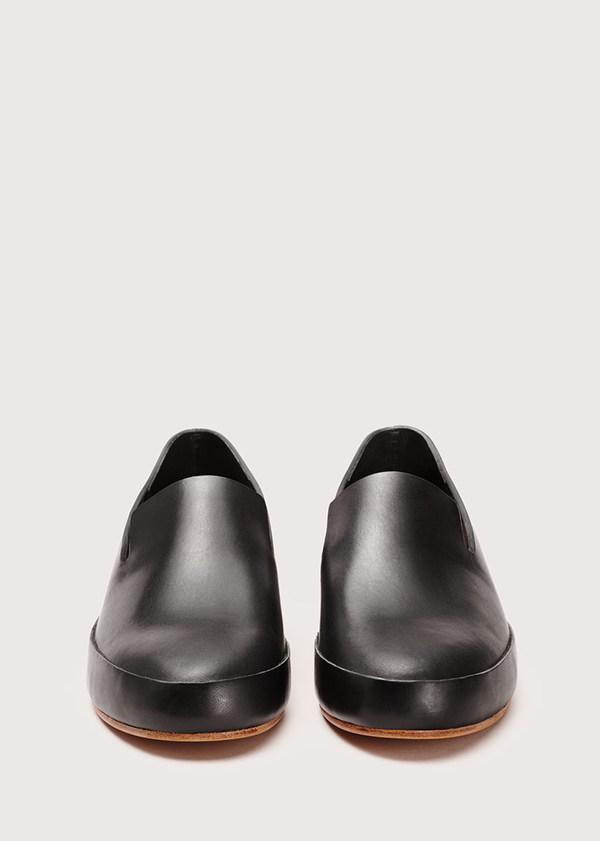 Men's Hand Sewn Slipper - Black