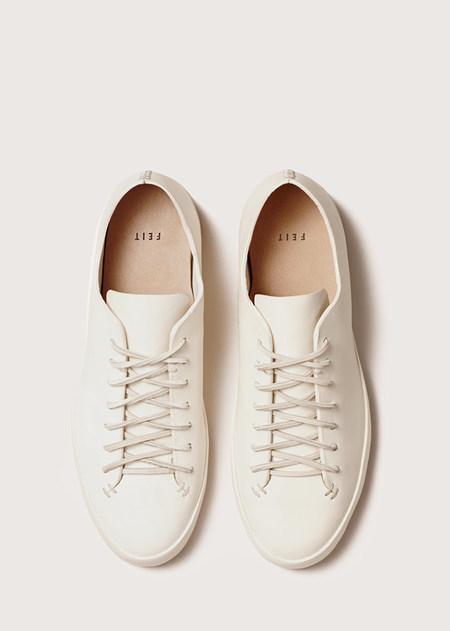 FEIT Hand Sewn Low - White