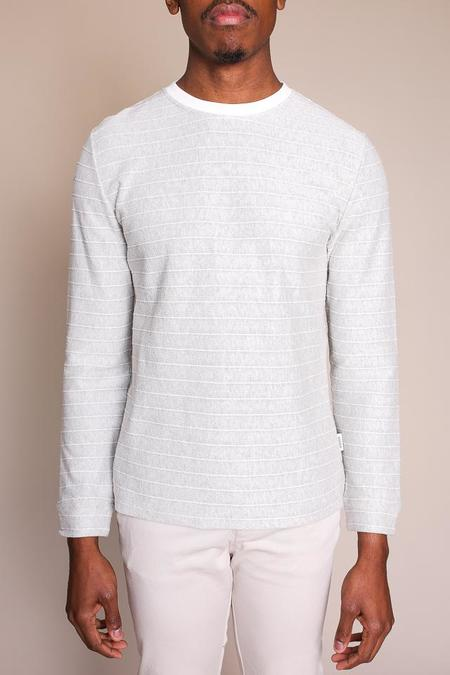 Oliver Spencer Berwick Crew in Grey