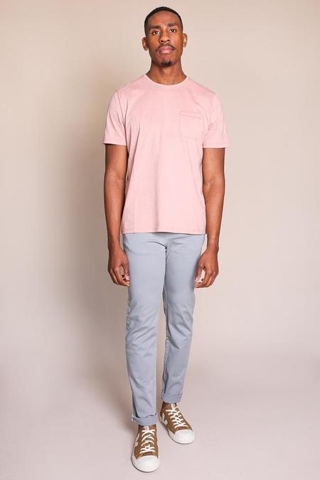 Oliver Spencer Envelope Tee in Pink