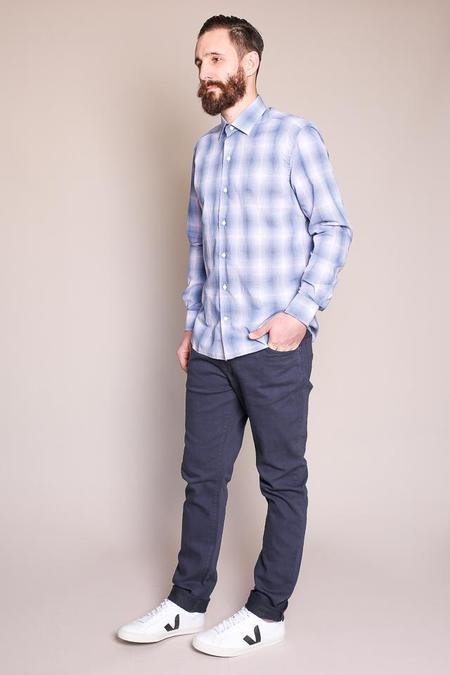 Culturata Gradient Plaid Shirt