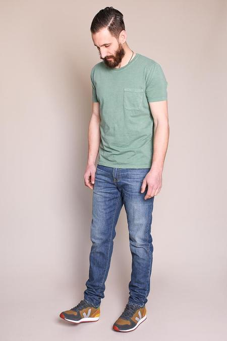 Raleigh Denim Workshop Graham Work Taper Jean in Pilot Wash