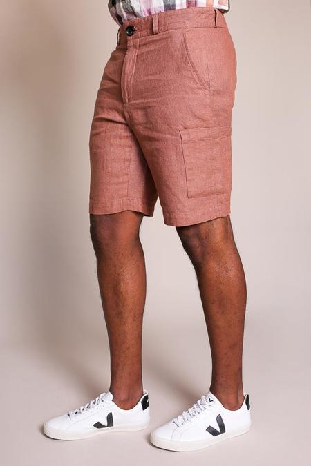 Oliver Spencer Judo Short in Pink