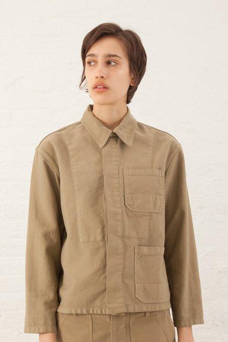 Caron Callahan Krasner Jacket in Khaki Twill