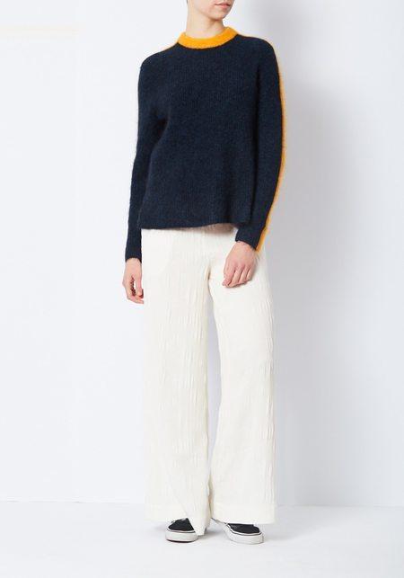 Ganni Navy Evangelista Sweater
