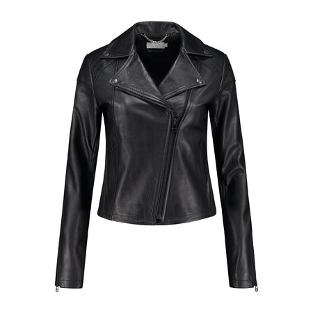 Ignore Maia Eco-Leather Jacket Black