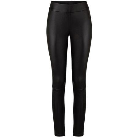 Ignore Sage vegan leather pant black