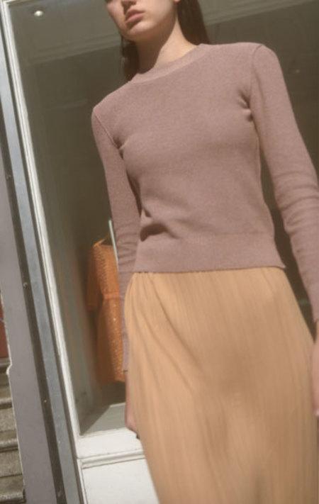 Veronique Leroy Knit Pullover - Lilac Melange