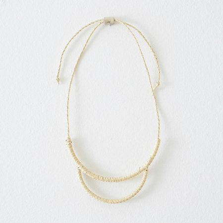 Crescioni Arc Necklace - Palm