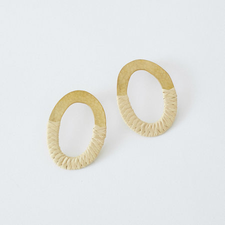 Crescioni Paz Earrings Palm