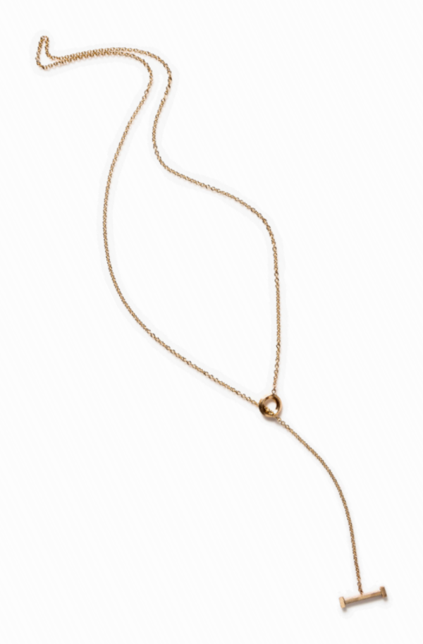 By Boe Bar Lariat Necklace