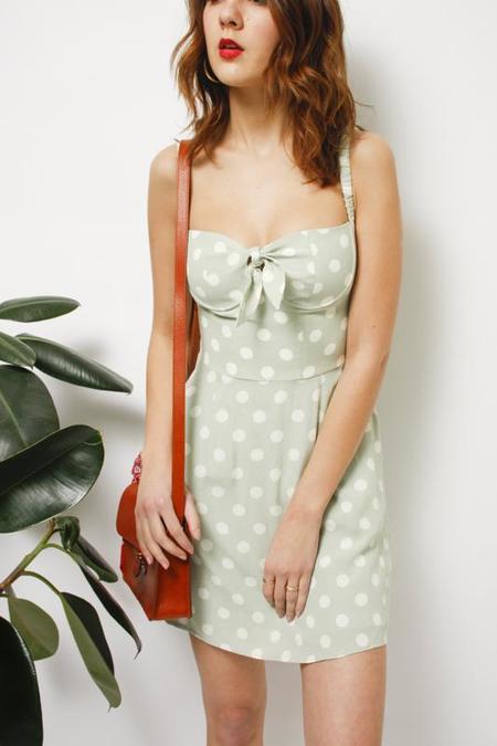 Capulet Gabby Mini Dress - Polka Dot
