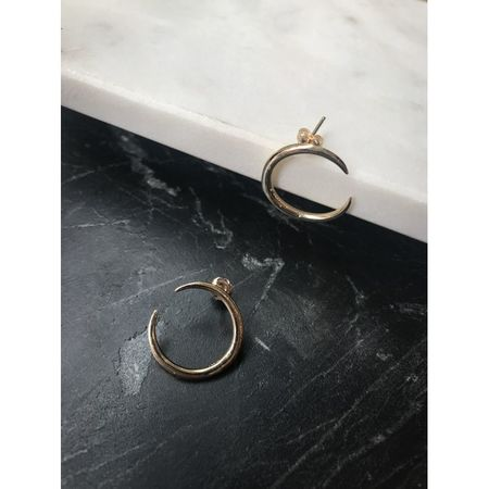 Gabriela Artigas Eternal Yellow Gold Earrings
