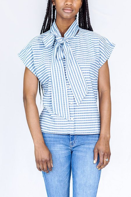 Ace & Jig Page Blouse in Starboard