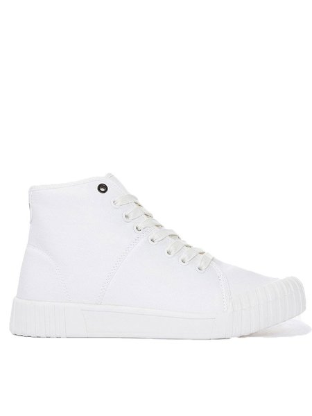 Good News Bagger High Top Trainer in White