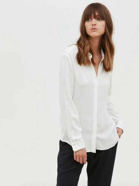 Hartford Clyde Shirt in Ivory
