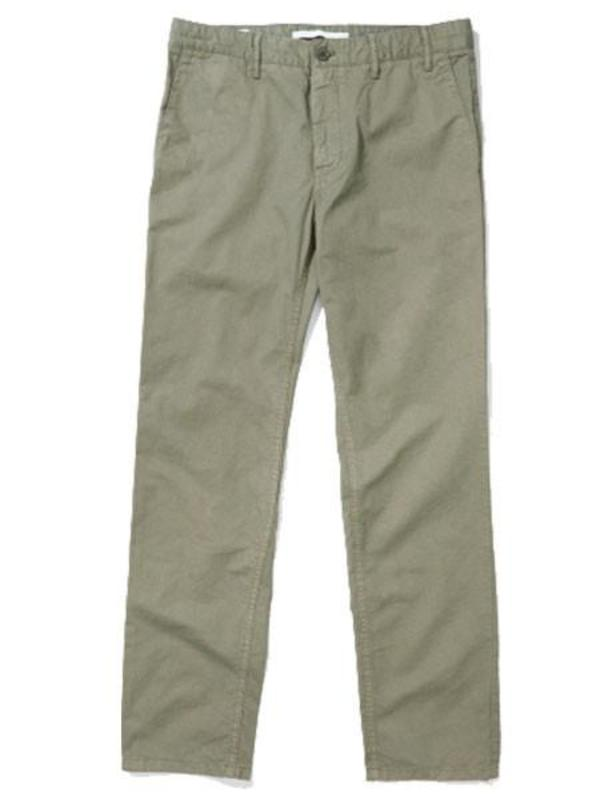 Norse Projects Aros Chino in Dried Olive