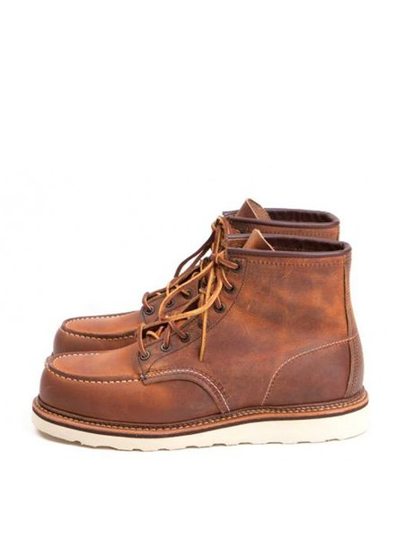 Red Wing 1907 Moc Toe Copper Boot