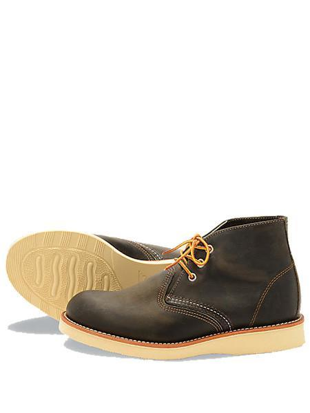 Red Wing 3150 Chukka Charcoal Boot