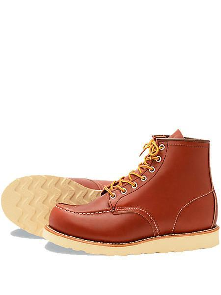 Red Wing Shoes 8131 Moc Toe Russet Boot